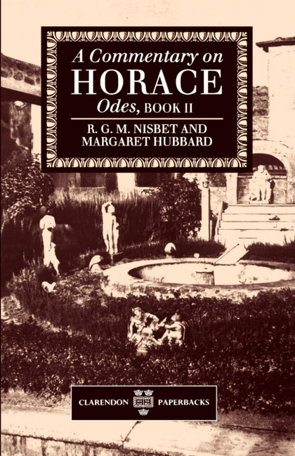 A COMMENTARY ON HORACE
