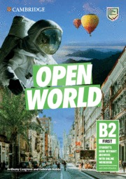 OPEN WORLD FIRST. STUDENT´S BOOK WITHOUT ANSWERS WITH ONLINE WORKBOOK