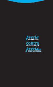 POESÍA CONTRA POESÍA: CELAN Y LA LITERATURA