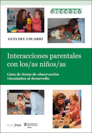 PICCOLO. INTERACCIONES PARENTALES CON LOS/LAS NIÑOS/AS. LISTA DE ÍTEMS DE OBSERVACIÓN VINCULADO