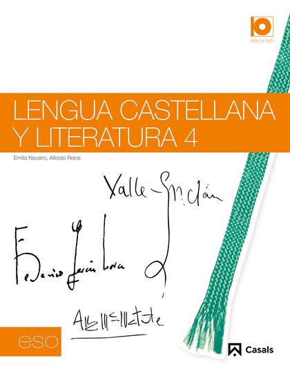 LENGUA CASTELLANA Y LITERATURA, 4 ESO