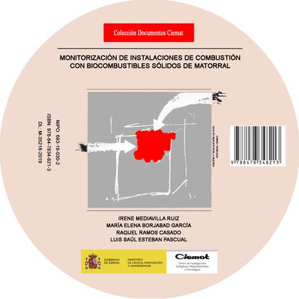 MONITORIZACIÓN DE INSTALACIONES DE COMBUSTIÓN CON BIOCOMBUSTIBLES SÓLIDOS DE MAT.