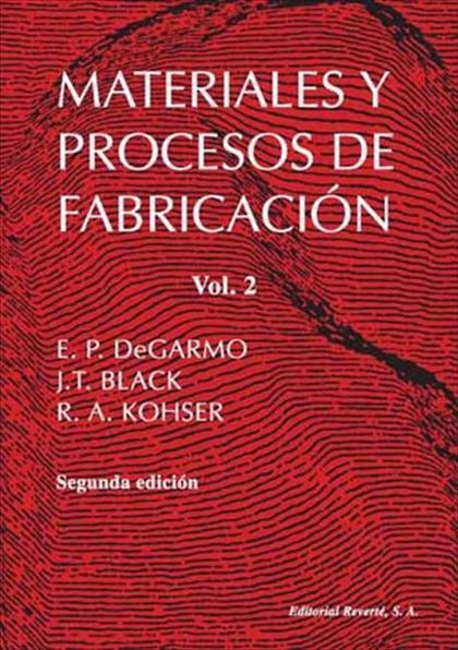 Materiales y procesos de fabricación II
