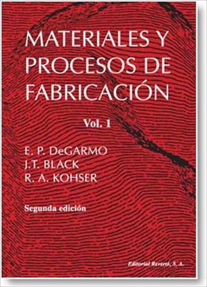 MATERIALES Y PROCESOS DE FABRICACIÓN. I (IMPR. DIGITAL).