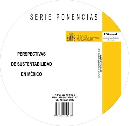 PERSPECTIVAS DE SUSTENTABILIDAD EN MÉXICO.