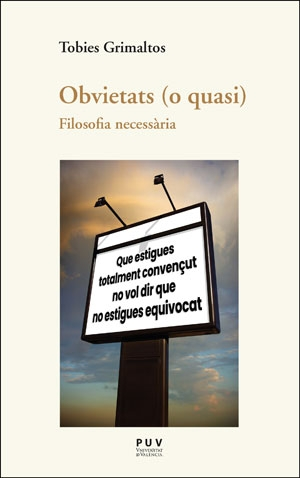 OBVIETATS (O QUASI). FILOSOFIA NECESSÀRIA
