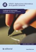 Aplicaciones informáticas de la gestión comercial. ADGG0208
