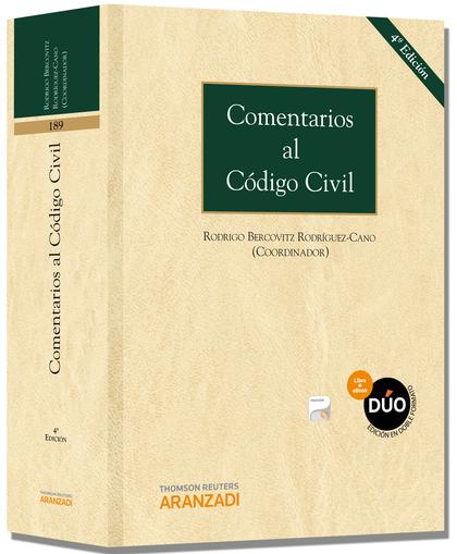 COMENTARIOS AL CÓDIGO CIVIL (PAPEL + E-BOOK).