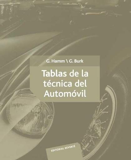 Tablas de la técnica del automóvil