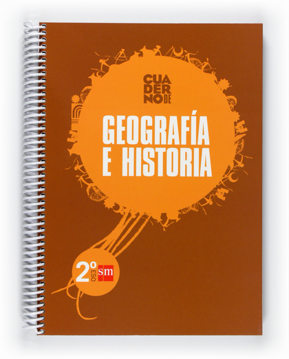CIENCIAS SOCIALES, GEOGRAFÍA E HISTORIA, 2 ESO. CUADERNO