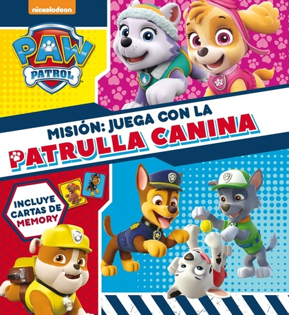EL GRAN LIBRO DE JUEGOS DE LA PATRULLA CANINA.