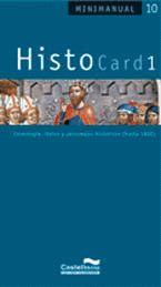 HISTOCARD 1 : CRONOLOGÍA, LÉXICO Y PERSONAJES HISTÓRICOS (HASTA 1800)
