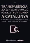 Transparència, accés a la informació i bon govern a Catalunya.