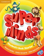 SUPER MINDS STARTER STUDENT`S BOOK +.DVD ROM