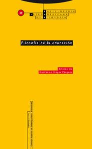 FILOSOFÍA DE LA EDUCACIÓN.