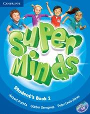 SUPER MINDS 1 STUDENT`S BOOK + DVD R.