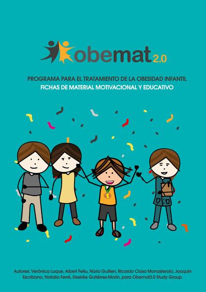 OBEMAT 2.0. PROGRAMA PARA EL TRATAMIENTO DE LA OBESIDAD INFANTIL                FICHAS DE MATER