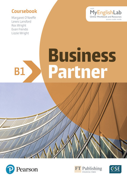 BUSINESS PARTNER B1 COURSEBOOK AND STANDARD MYENGLISHLAB PACK