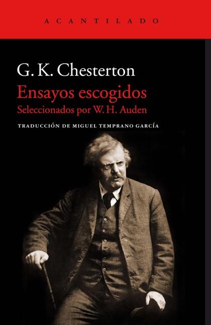 ENSAYOS ESCOGIDOS. SELECCIONADOS POR W. H. AUDEN