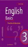 ENGLISH BASICS 3 PRACTICE AND REVISION