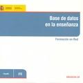 BASE DE DATOS EN LA ENSEÑANZA