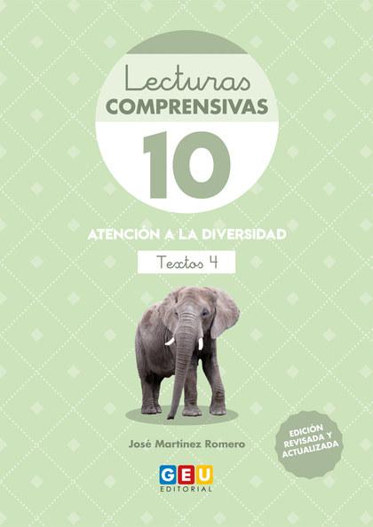 LECTURAS COMPRENSIVAS 10 ED19.