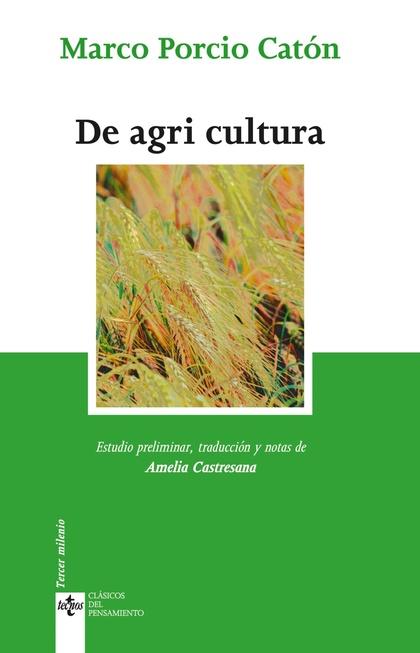 DE LA AGRICULTURA