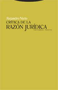 CRITICA DE LA RAZON JURIDICA