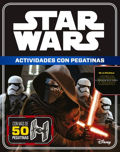 STAR WARS. EL DESPERTAR DE LA FUERZA. ACTIVIDADES CON PEGATINAS.