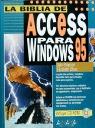 LA BIBLIA DE ACCESS PARA WINDOWS 95