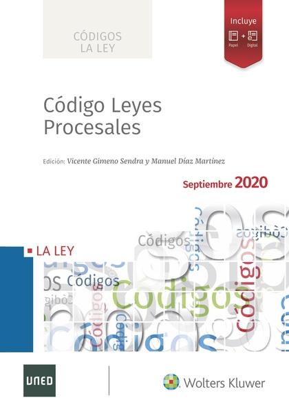 CÓDIGO DE LEYES PROCESALES 2020.