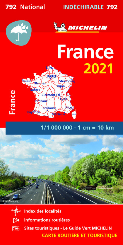 MAPA NATIONAL FRANCIA ´ALTA RESISTENCIA´ 2021.