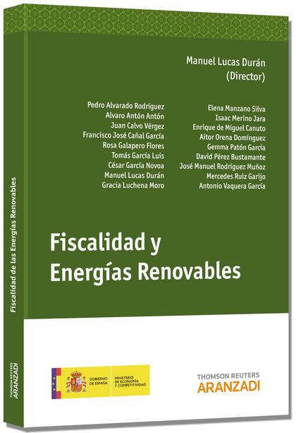 FISCALIDAD Y ENERGÍAS RENOVABLES