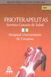 FISIOTERAPEUTAS DEL SERVICIO CANARIO DE SALUD/ HOSPITAL UNIVERSITARIO DE CANARIAS. TEMARIO. TES
