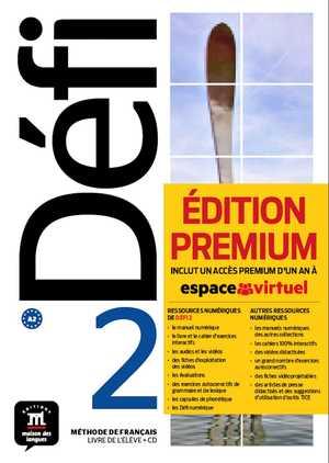 DEFI 2 LIVRE DE LELEVE CD PREMIUM A2.