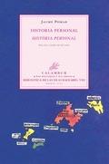 HISTORIA PERSONAL : ANTOLOGÍA = HISTÒRIA PERSONAL :ANTOLOGIA