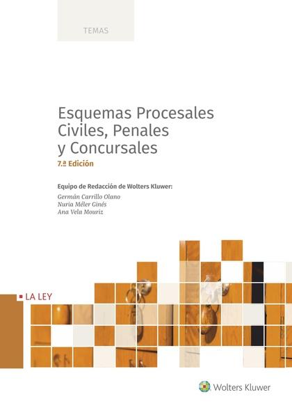 ESQUEMAS PROCESALES CIVILES, PENALES Y CONCURSALES (7.ª EDICIÓN).