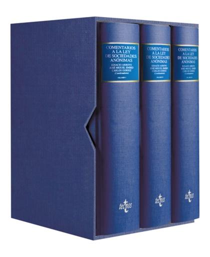 COMENTARIOS A LA LEY DE SOCIEDADES ANÓNIMAS : REAL DECRETO LEGISLATIVO 1564/1989, DE 22 DE DICI