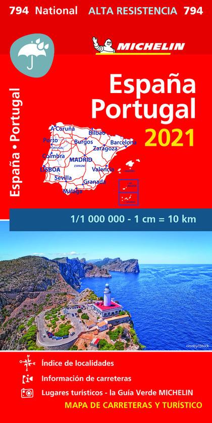 MAPA NATIONAL ESPAÑA - PORTUGAL 2021 ´ALTA RESISTENCIA´.