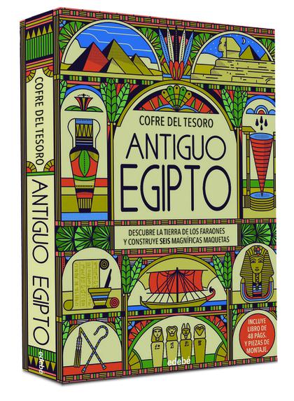 ANTIGUO EGIPTO. COFRE DEL TESORO.