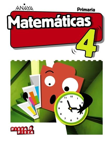 MATEMÁTICAS 4. (INCLUYE TALLER DE RESOLUCIÓN DE PROBLEMAS)