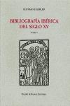 BIBLIOGRAFÍA IBÉRICA DEL SIGLO XV.