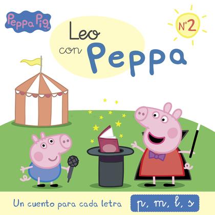UN CUENTO PARA CADA LETRA: P, M, L, S (LEO CON PEPPA PIG 2).
