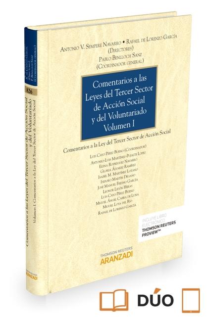 COMENTARIOS A LAS LEYES DEL TERCER SECTOR DE ACCIÓN SOCIAL Y DEL VOLUNTARIADO (V.