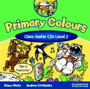 PRIMARY COLOURS 2 CLASS AUDIO CD