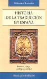 HISTORIA DE LA TRADUCCIÓN EN ESPAÑA