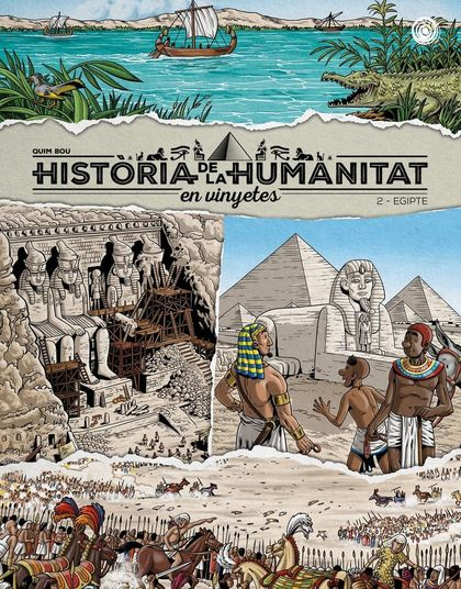 HISTÒRIA DE LA HUMANITA EN VINYETES VOL. 2. EGIPTE