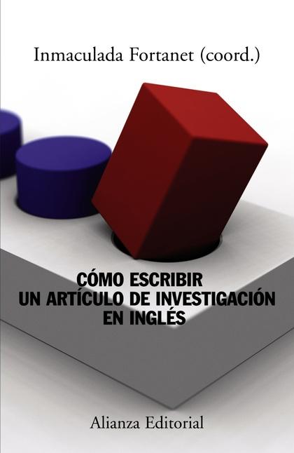 CÓMO ESCRIBIR UN ARTÍCULO DE INVESTIGACIÓN EN INGLÉS