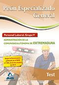 PEÓN ESPECIALIZADO GENERAL, GRUPO V, PERSONAL LABORAL, ADMINISTRACIÓN DE LA COMUNIDAD AUTÓNOMA