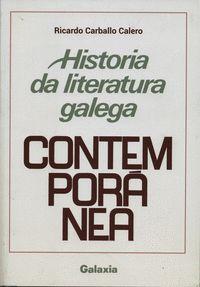 HISTORIA DA LITERATURA GALEGA CONTEMPORANEA-CARBALLO CALERO